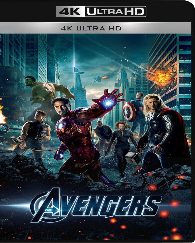 The Avengers [2012] [UHD] [2160p] [Latino]
