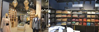 डिजाइनर जोड़ी रेशमा और रियाज गंगजी ने दिल्ली में 'लिबास' की नई दुकान लॉन्च की
