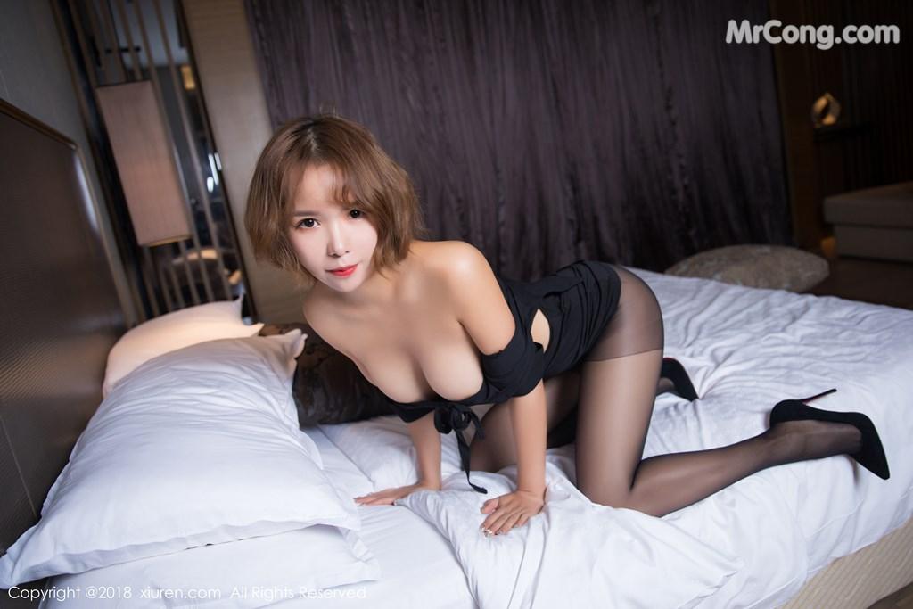 Image XIUREN-No.1264-Ya-Wen-MrCong.com-053 in post XIUREN No.1264: Người mẫu Ya Wen (雅雯) (61 ảnh)