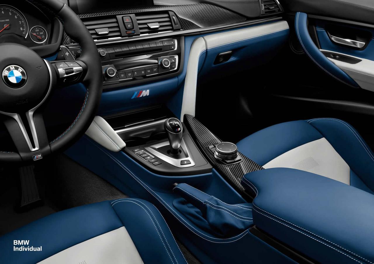 Bmw Individual Showcase Two Tone Interior On New Bmw M3