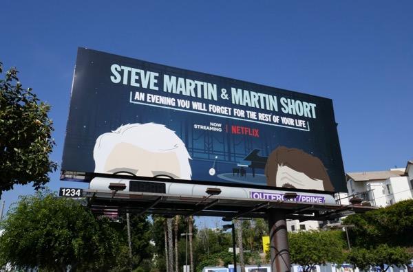 Steve Martin Short Netflix special billboard