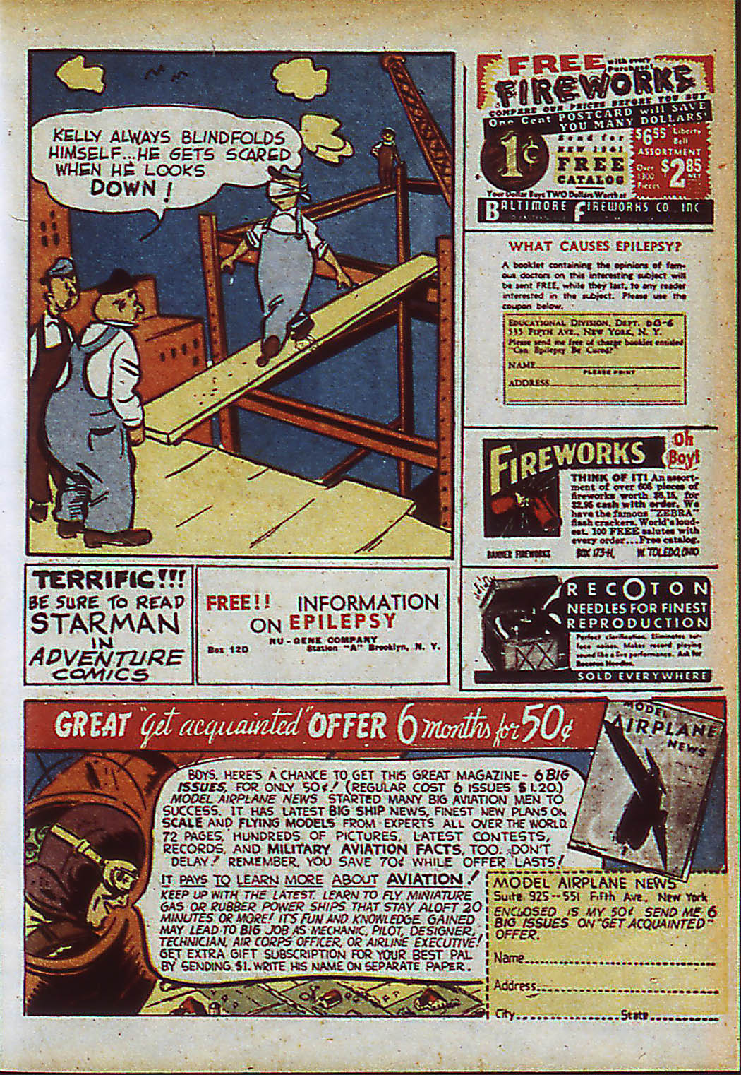Read online Action Comics (1938) comic -  Issue #37 - 55
