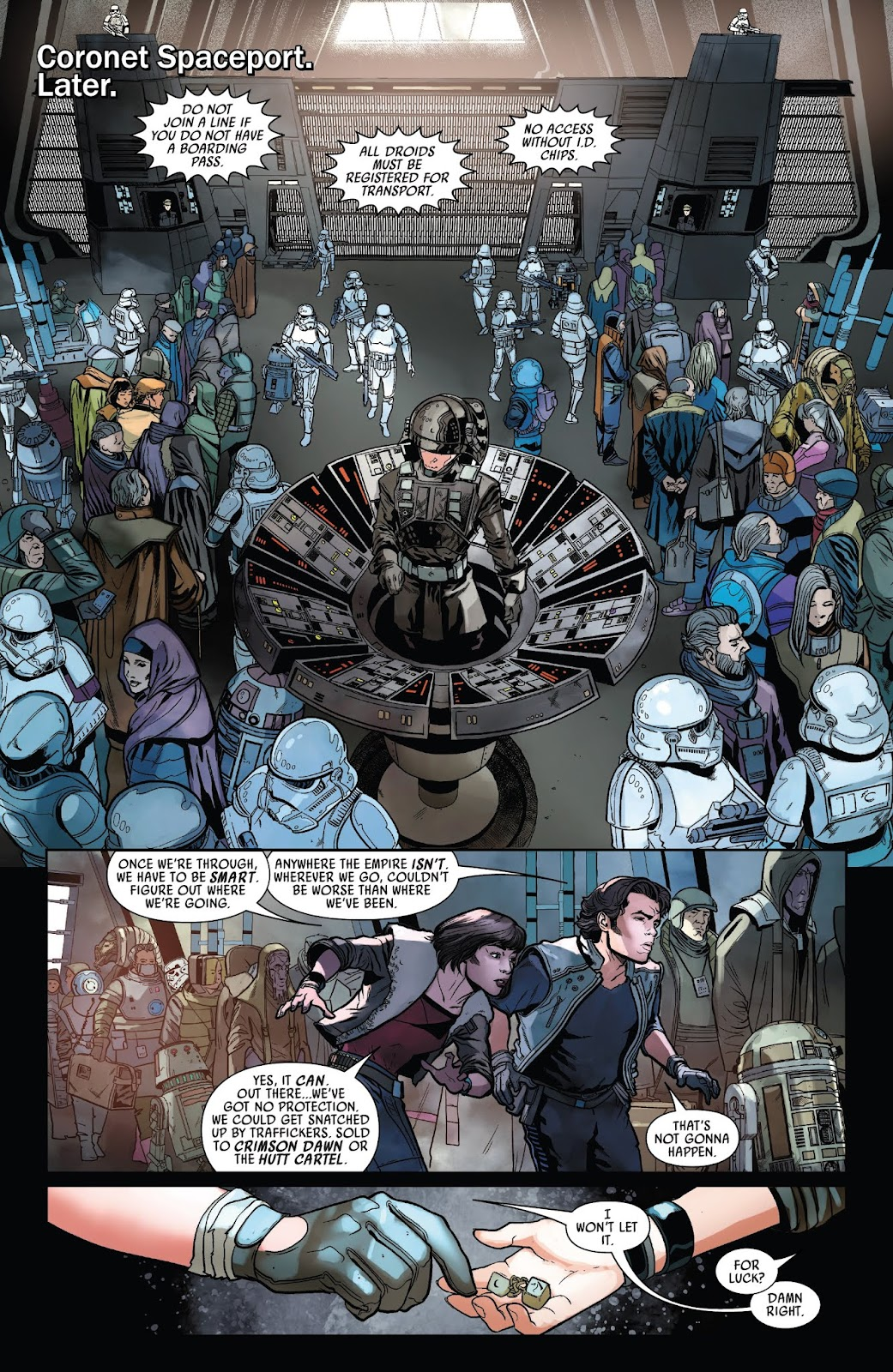 Read online Solo: A Star Wars Story Adaptation comic -  Issue #1 - 17