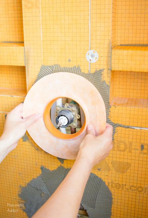 Diy Modern Master Bath Remodel Part 3 Custom Tile Shower