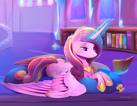 Princess Cadance close up