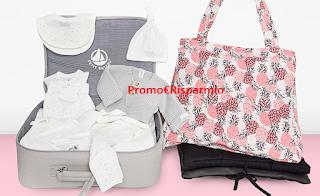 Logo Fattore Mamma ti fa vincere gratis le valige parto del valore di 600 euro