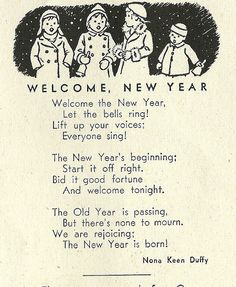 Happy New Year 2018 Vintage Images