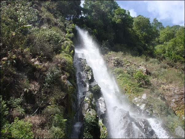 Wisata Alam Curug Benowo Kabupaten Kendal