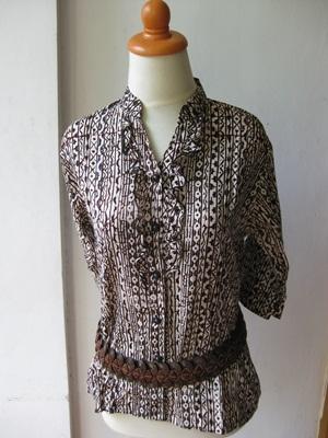 Baju Batik Pekalongan Solo Dan Jogja Batik Keris Model Baju Batik