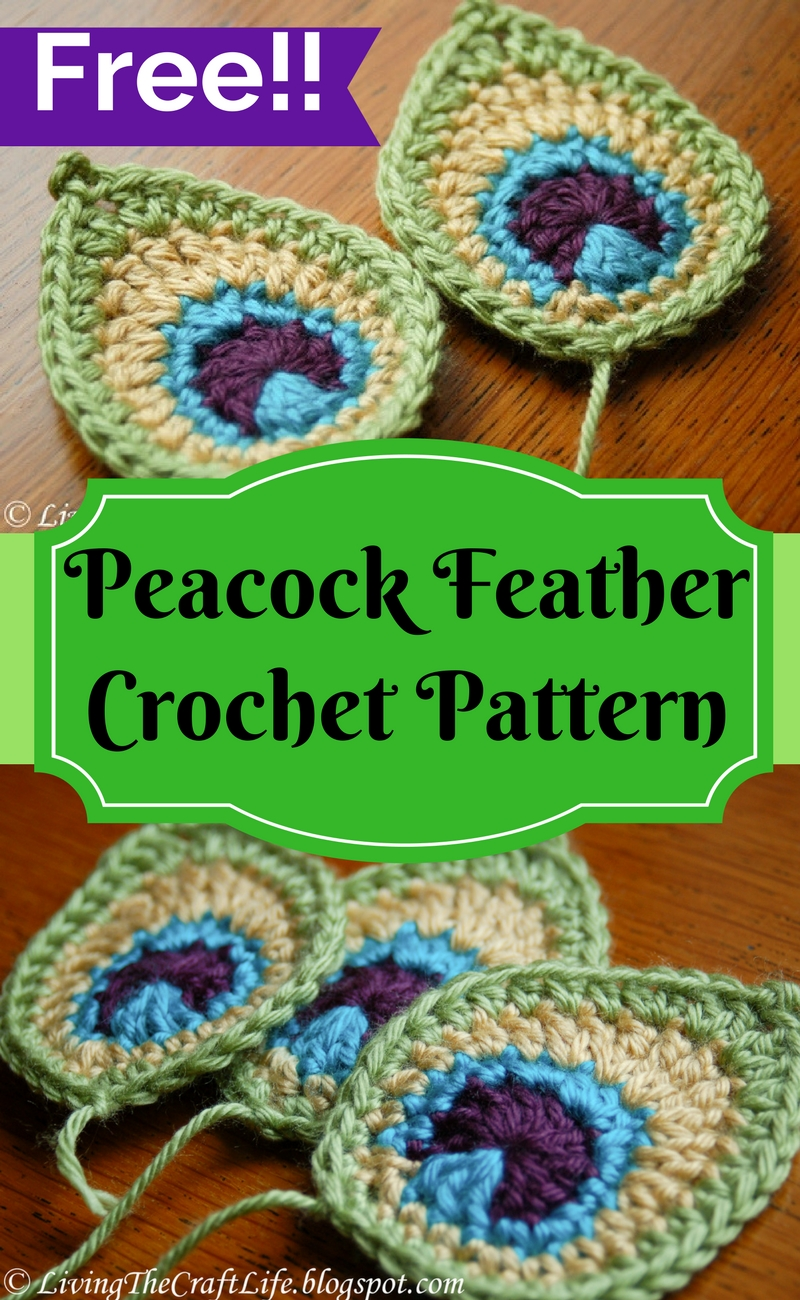 Living The Craft Life Peacock Feather Applique Free Pattern