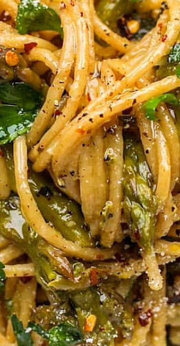 Asparagus One Pot Pasta