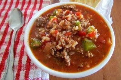 Stuffed pepper soup