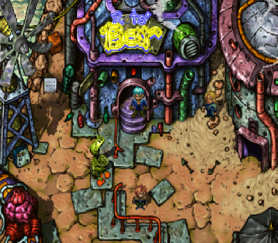 Elemental Gimmick Gear - Rot's Bar