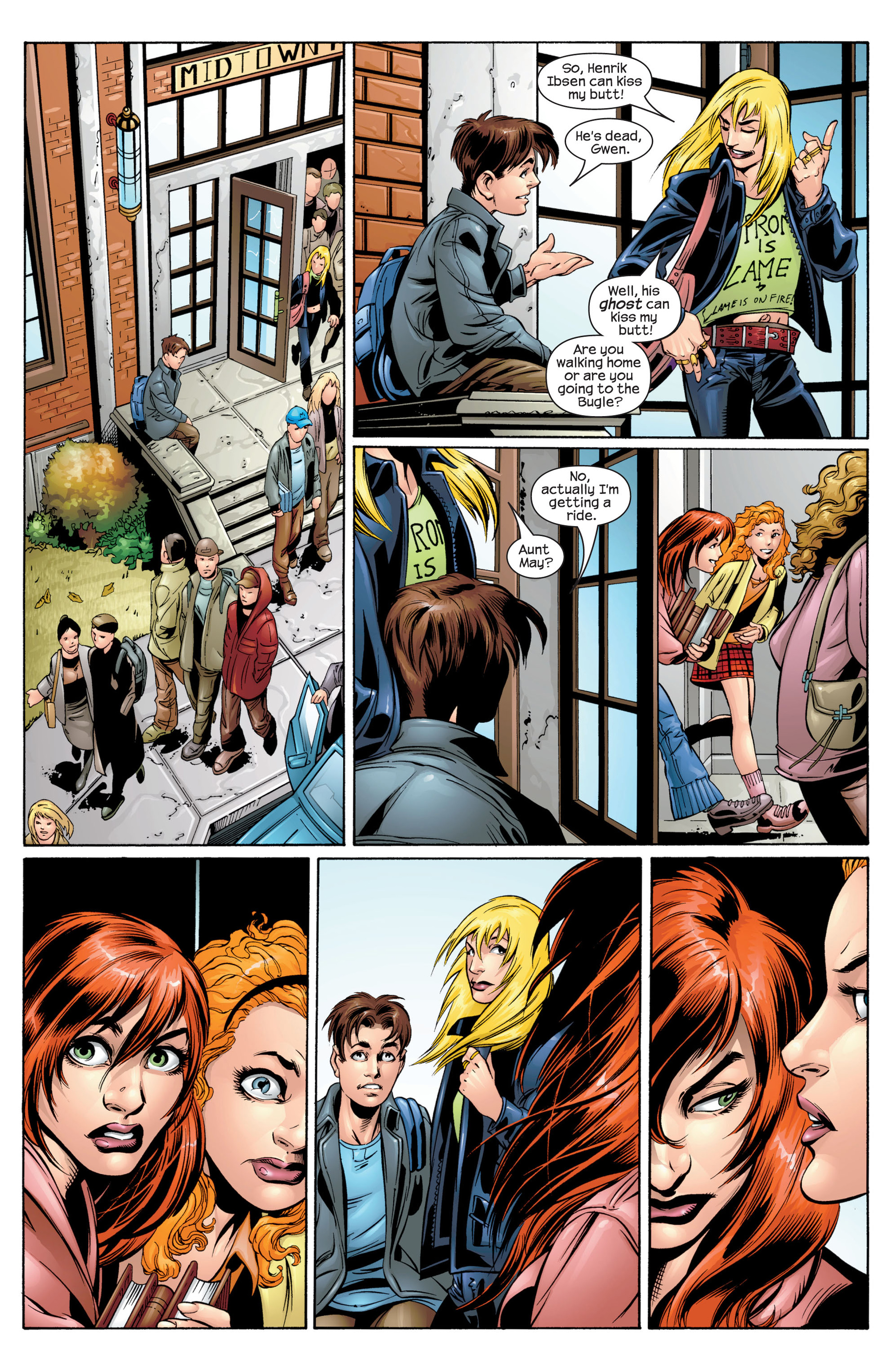 Read online Ultimate Spider-Man (2000) comic -  Issue #34 - 9