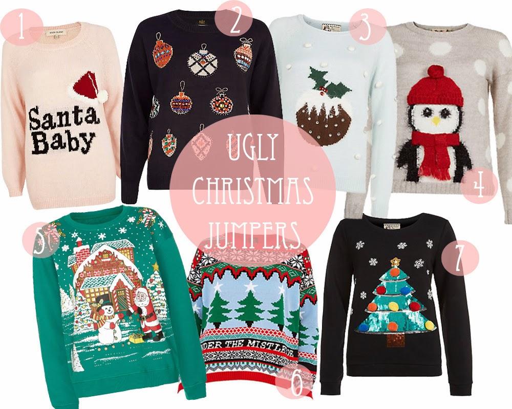 Kersttrui Gezin.Flolliblog Fashion Christmas Jumpers