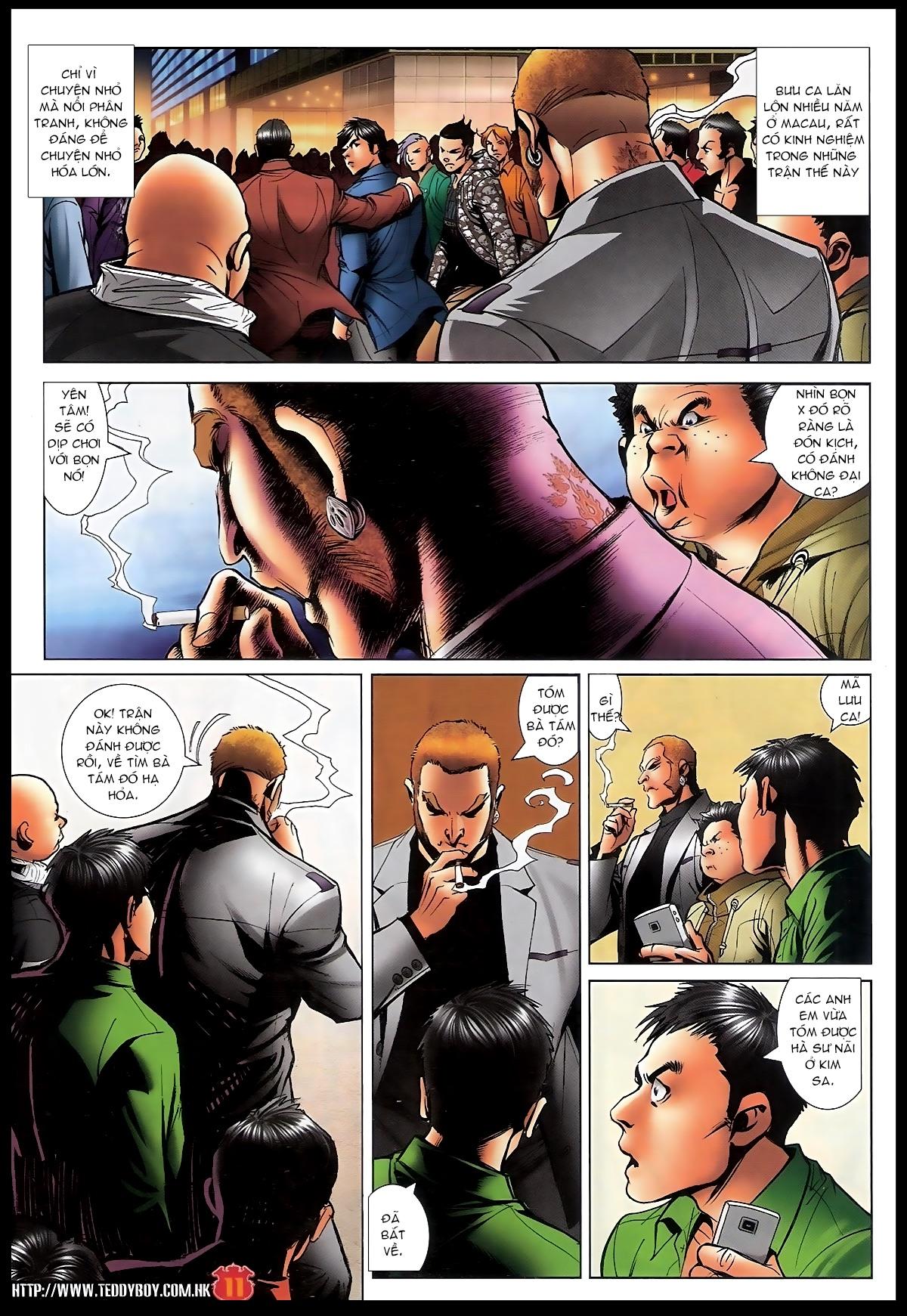Người Trong Giang Hồ - Chapter 1566: Bốc shit - Pic 10