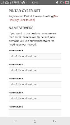 Cara mendapatkan domain.net (.net) gratis tanpa bayar sepeserpun