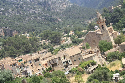 Valldemossa from Sa Miranda viewpoint