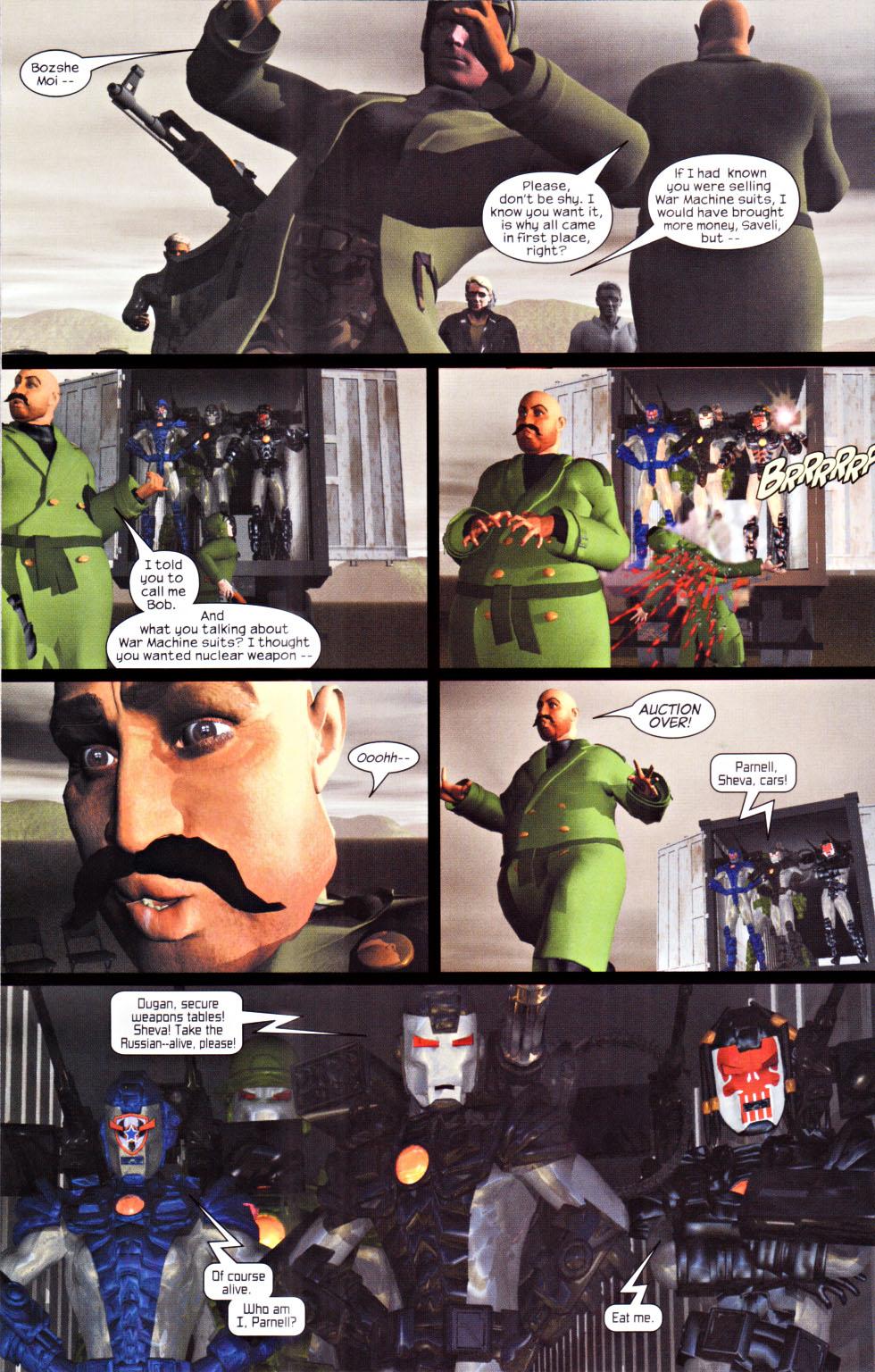 Read online U.S. War Machine 2.0 comic -  Issue #1 - 16