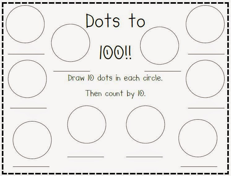 The Polka Dot Patch: 100th Day Requests