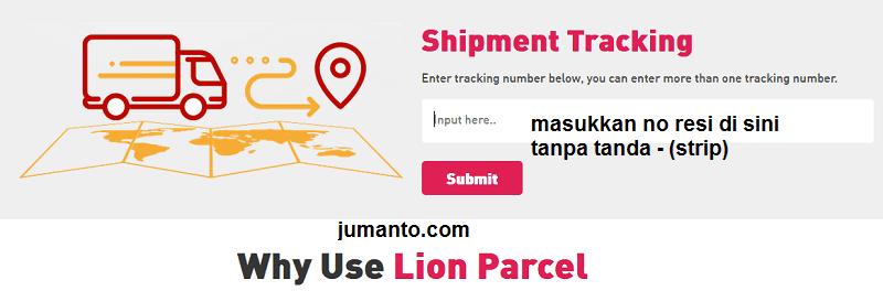 Cara Tracking Cek Resi Pengiriman Lion Parcel Akurat Terbaru