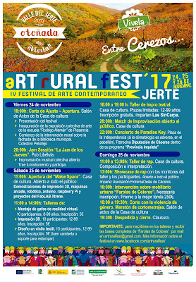 "IV FESTIVAL DE ARTE CONTEMPORANEO ""ART-RURAL FEST"""
