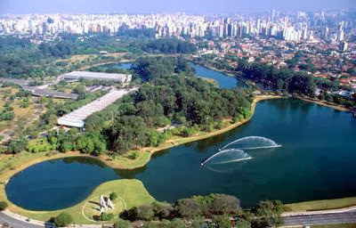Parque do Ibirapuera, uncentral Central Park de Sao Paulo
