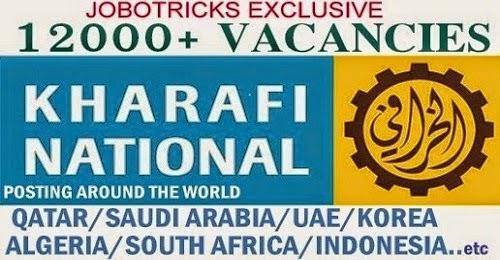 KHARAFI NATIONAL JOB VACANCIES - Gulf Job Vacancies