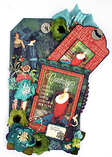 Mixed Media Couture Etcetera Tag