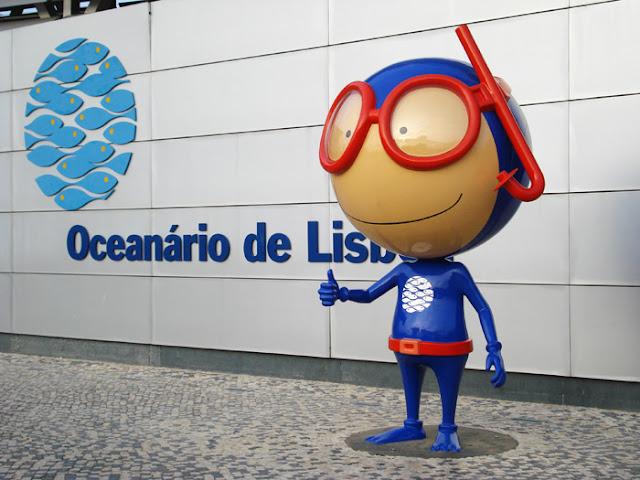 Mascote do Oceanário de Lisboa