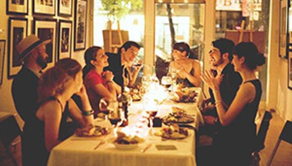 Jantar em Florença