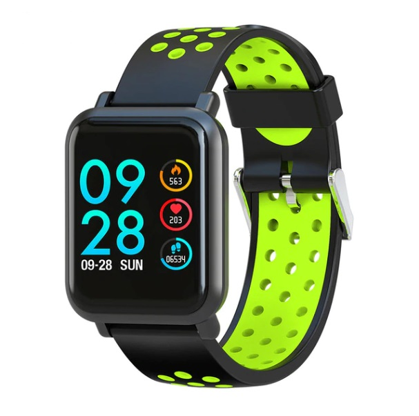 Smartwatch 2.5D Screen Gorilla Glass Sport Band for Android and iOS