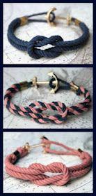 DIY Nautical bracelet