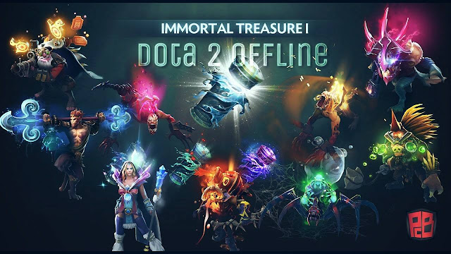 DOTA 2 OFFLINE NEW PC GAME
