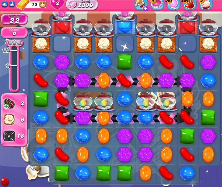 Candy Crush Saga level 2390