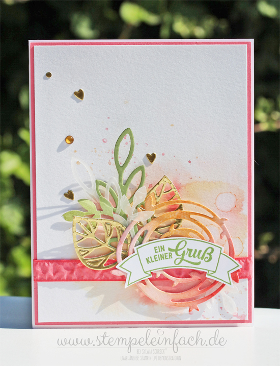 Stampin Up-Aquarell-Karte