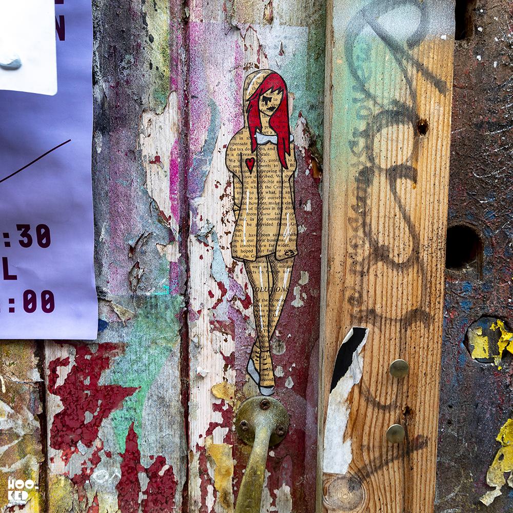 Street Artist C3 - Shoreditch Street Art Paste-up
