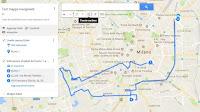 Disegnare percorsi e itinerari sulle mappe Google da inviare o conservare