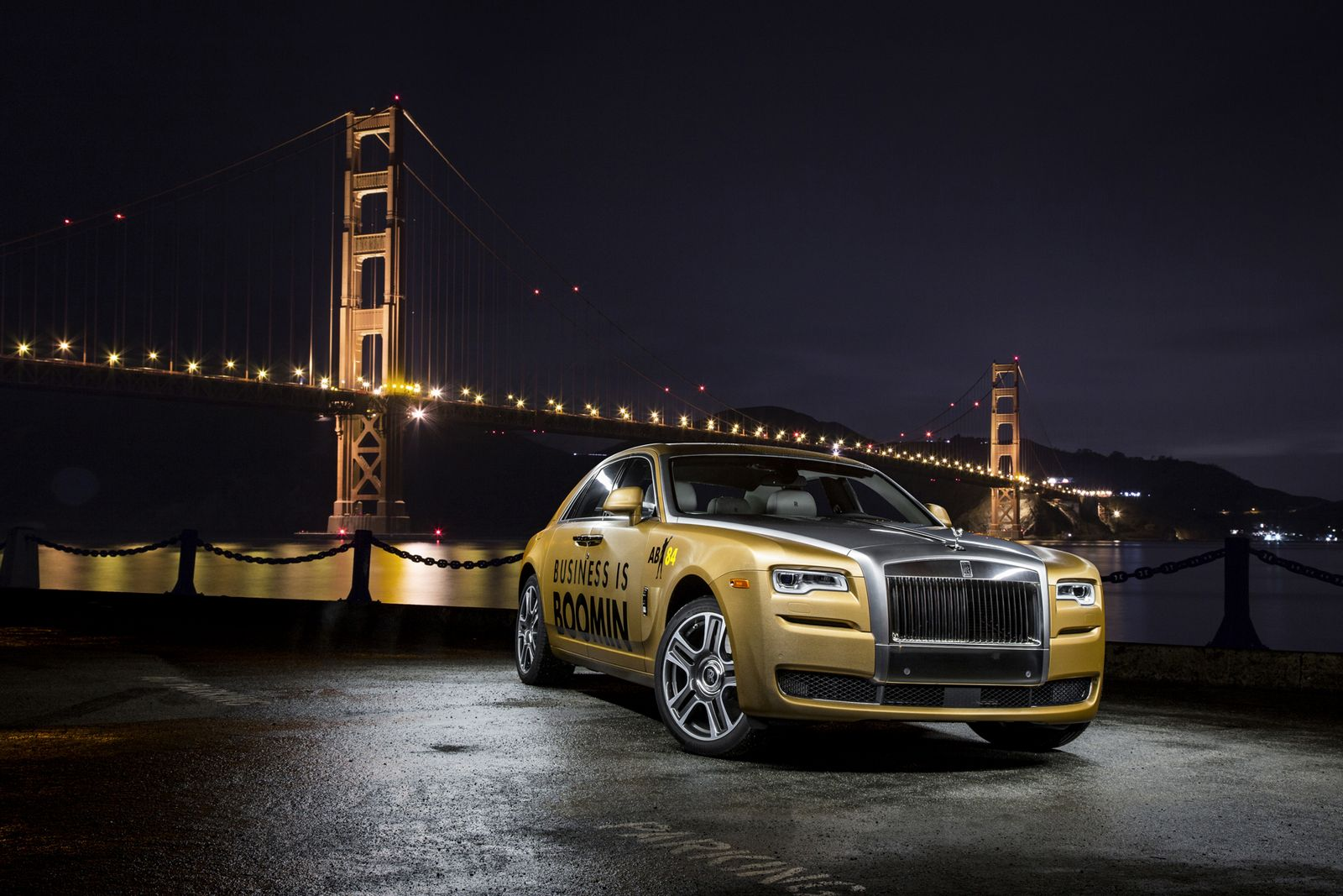 Rolls Royce Created A Custom Ghost For Antonio Brown To Use During Super Bowl 50 Carscoops