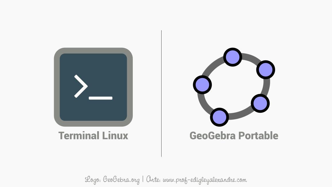 Como executar o GeoGebra Portable no Linux Ubuntu e seus derivados?