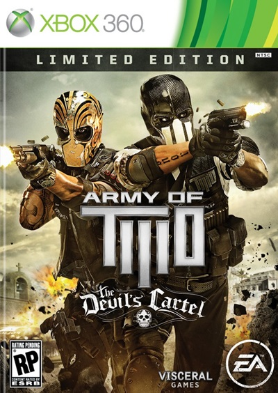 Army of Two The Devils Cartel Xbox 360 Región Free