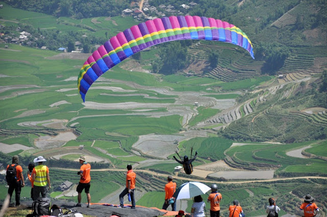 Paragliding festival to take place in Mu Cang Chai