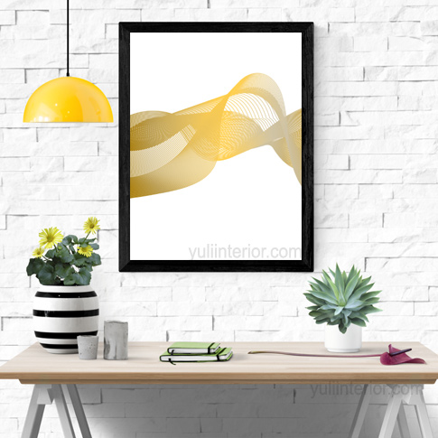 Abstract Lines Framed Print Wall Frame in Portharcourt Nigeria