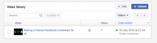 Cara Streaming ke Facebook Live, Begini Caranya