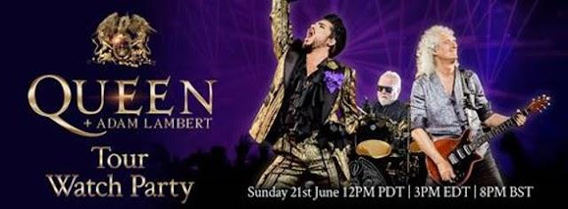 Continua la gira de Queen y Adam Lambert
