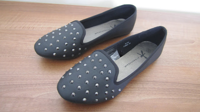 Primark Black Studded Slippers