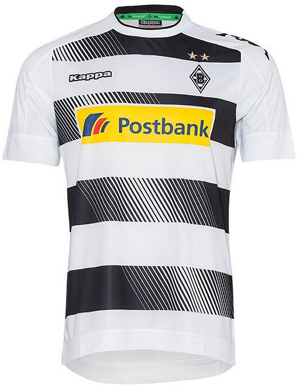 Kappa lança camisa titular do Borussia Mönchengladbach - Show de Camisas 4bce0ea736598