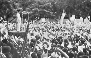 Sejarah-Kebahagiaan Rakyat Atas Kemerdekaan Indonesia