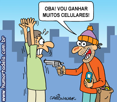 Resultado de imagem para ladrões de celulares