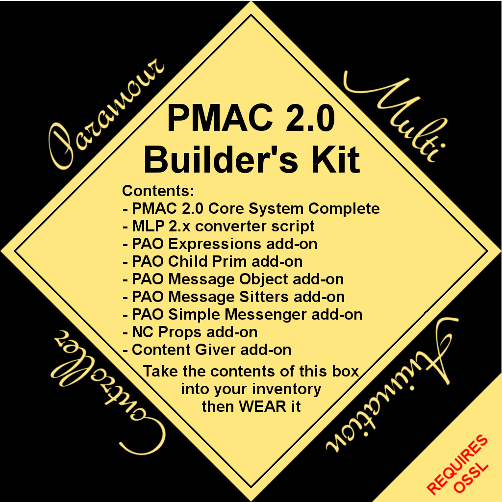 This Product Contains The Core PMAC20 System Which Has All Of Features PMAC 10 And Then Adds A Host New Capabilities Most I Detailed